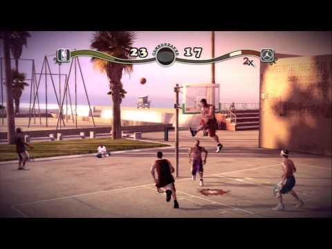 NBA Street Homecourt NBA Stars Vs Jordan's All Stars
