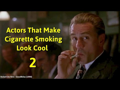 Actors That Make Cigarette Smoking Look Cool – Part 2