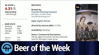 Beer of the Week: Founders Brewing Curmudgeon's Better Half
