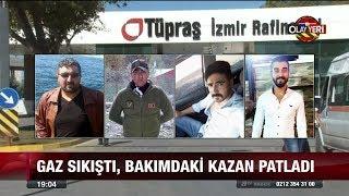 Tüpraş rafinerisi'nde patlama:4 ölü! - 11 Ekim 2017