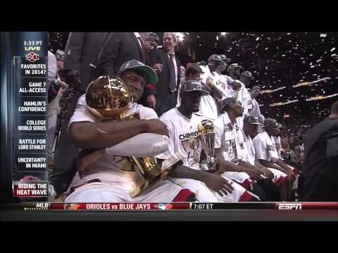 June 21, 2013 - Three Year Summary of The Miami Heat Big Three Era
