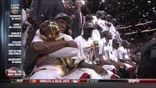 June 21, 2013 - Three Year Summary of The Miami Heat Big Three Era
