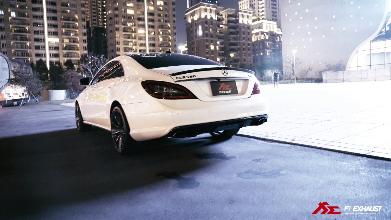 Mercedes-Benz CLS550 x FiExhasut - Never compromise to be the best !!