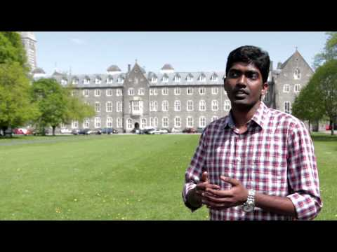 Vignesh Rajendran talks about his International Student Experience at Maynooth University