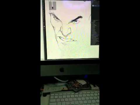 Periscope digital art and ranting