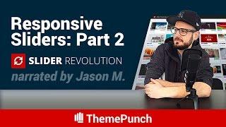Slider Revolution Responsive Setup Part 2: Responsive Text