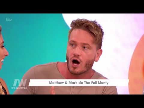 Matthew Wolfenden and Mark Foster Talk the Full Monty   Loose Women