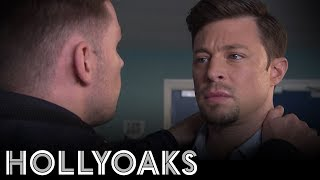 Hollyoaks: Ryan Lashes Out At Ste