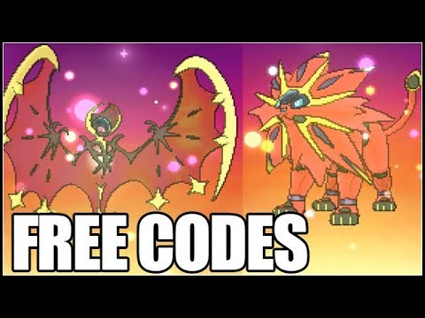 Obtaining Shiny Lunala And Solgaleo Event - FREE CODES