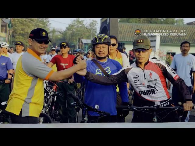 Gowes Soliditas TNI-POLRI Menjelang Asian Games XVIII Tahun 2018