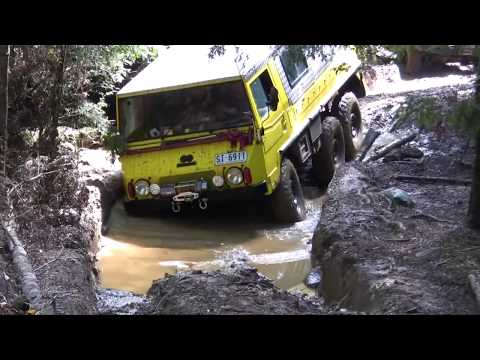 Pinzgauer on the $1000 Track, Tasmania