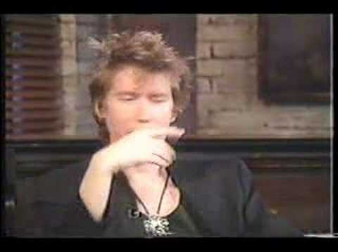 Richard Butler (The Psychedelic Furs) Interview 1988 Part II