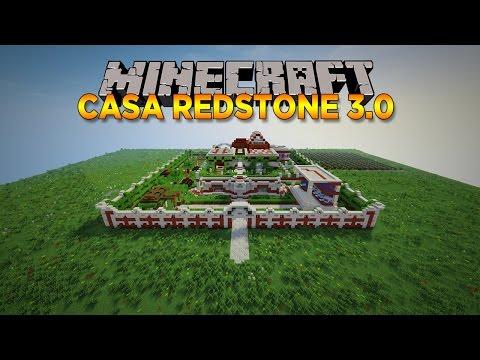 CASA REDSTONE 3.0 (Automatica) - MINECRAFT - ESCLUSIVA