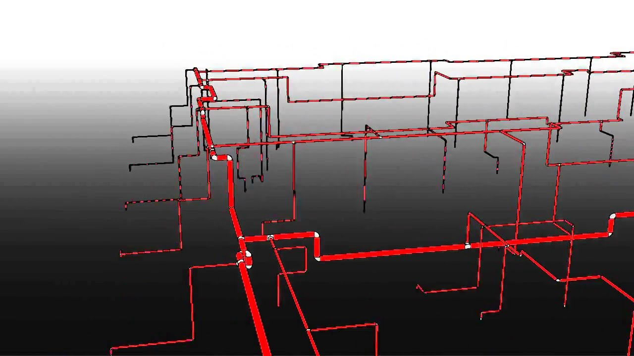 Revit Fire Sprinkler System And Coordination Youtube