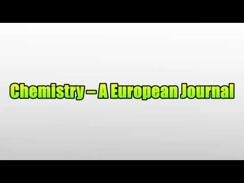 Chemistry – A European Journal