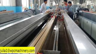 china best qualtiy wpc pvc profile making machine line 1 time 2 pieces