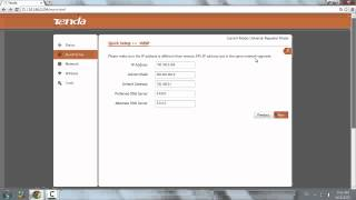 Configurare Tenda Access Point in WISP mode