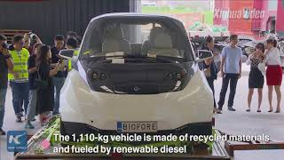 Gambar cover Welcome to CIIE! A Finnish bio-concept vehicle becomes 1st to clear customs