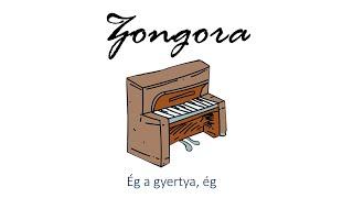 Hangszer ovi - Ég a gyertya, ég (zongora) / Hungarian children song (cat, cow, dog, animal)