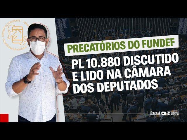 PL 10.880 DISCUTIDO E LIDO NA CÂMARA DOS DEPUTADOS