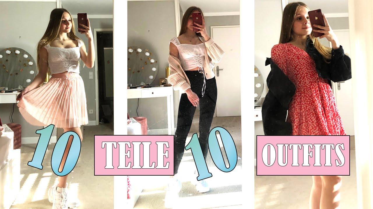10 outfits mit 10 teilen von nakd 💖 ii haul 🛍 ii charlie xd