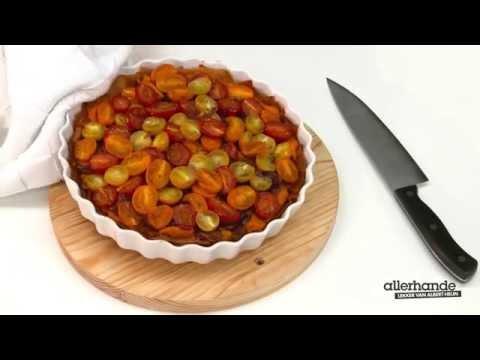 Hartige taart met tomaat & ui - Allerhande