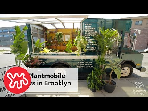 Tula House: A Green Plantmobile Rides Through Brooklyn