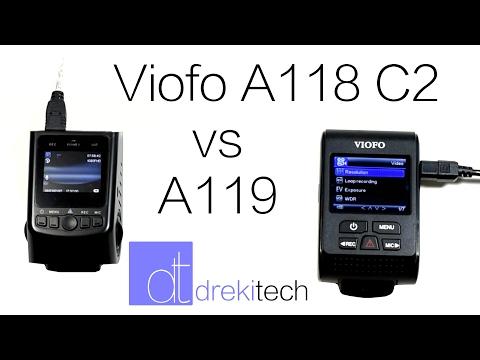 Viofo A118C2 Vs Viofo A119