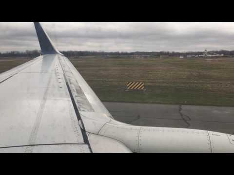 Delta Airlines 737-800 Detroit to Minneapolis (Full Flight)