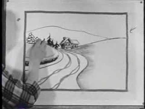 Anime Landscape Sketch