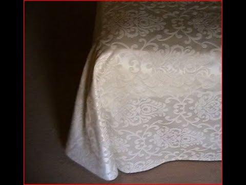 Come Cucire Un Copriletto Matrimoniale.Come Fare Un Copriletto Estivo How To Make A Simple Bed Cover