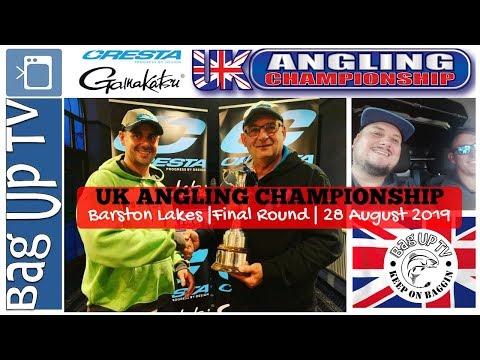 UK Angling Championship 2019 | Final Round | Barston Lakes | BagUpTV | LIVE MATCH