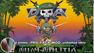 My Mini Militia Mod By Sahad Ikr Stream