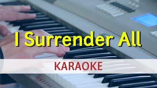 I Surrender All Karaoke Lyrics