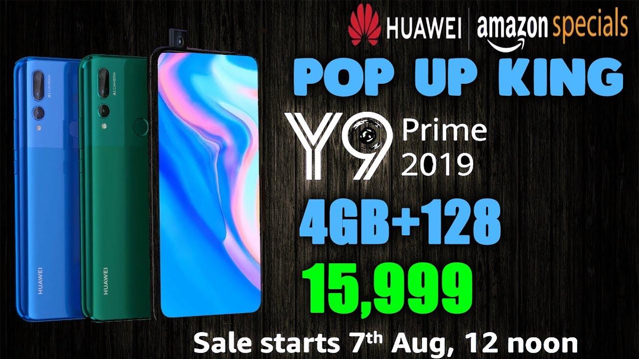 Huawei Y9 Prime 2019 - Pop Up Camera, Triple Rear Camera, 6 59
