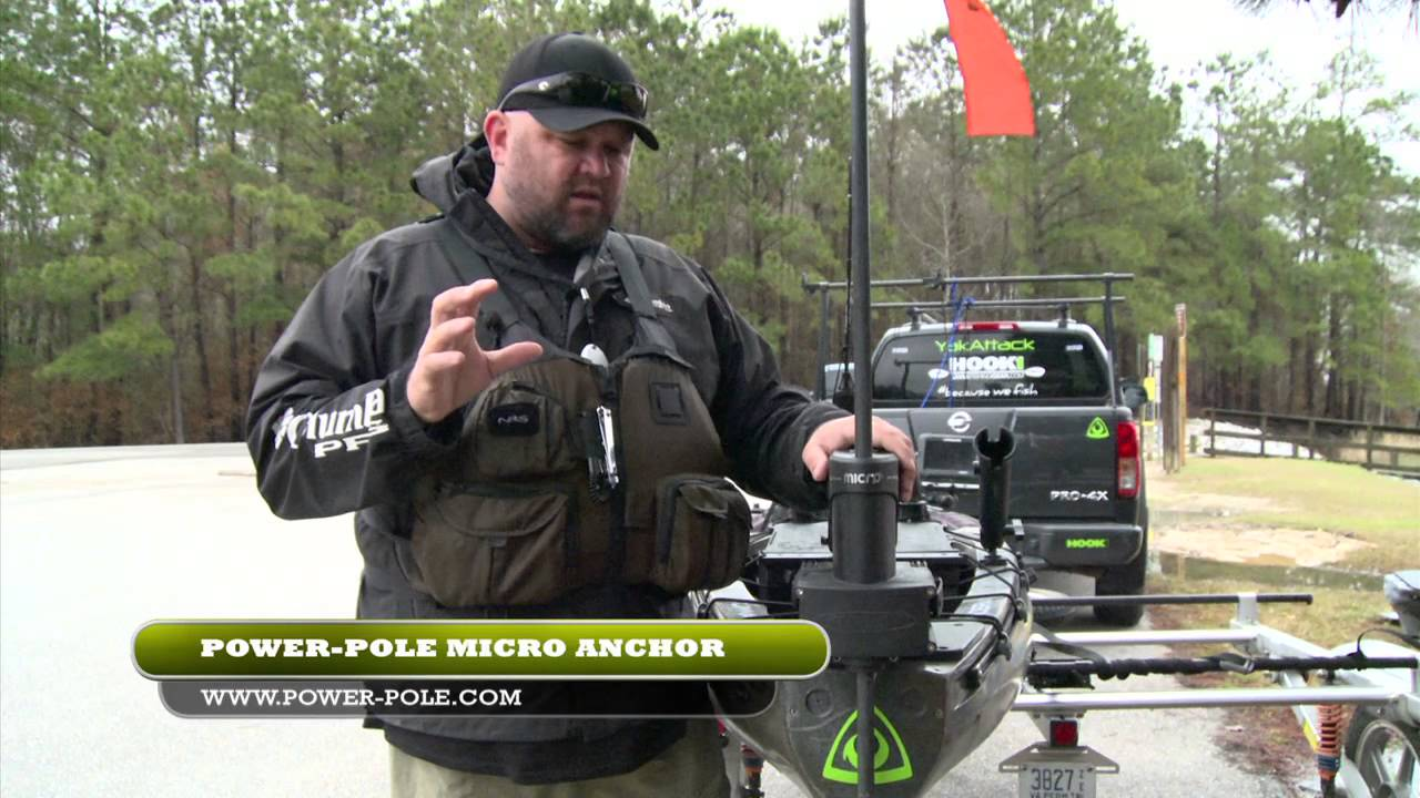 Power Pole's Micro Anchor for Kayak Anglers
