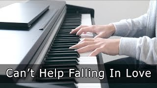 Can't Help Falling In Love (Elvis) - Piano Cover Video