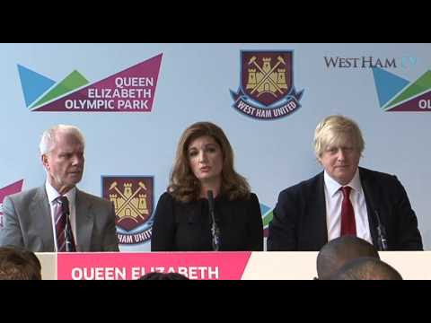 Olympic Stadium Announcement Day