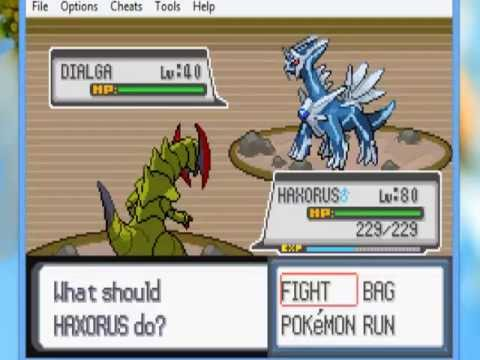 Pok mon light platinum capturando a los legendarios parte 2 catching the legendaries part 2 - Pokemon platine legendaire ...