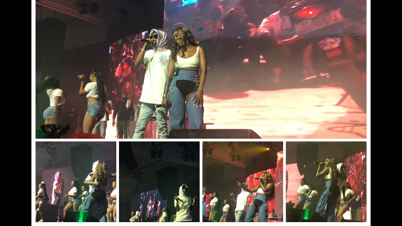 Tiwa Admits Her Relationship With Wizkid As She Brings Him To Perform With Her On Stage