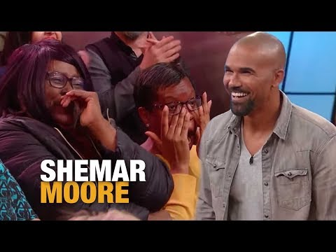 Watch Our Studio Audience FREAK OUT When Shemar Moore Walks Out