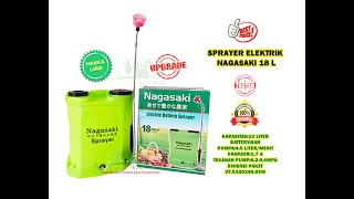 Sprayer Elektrik  16 Liter Nagasaki  Semprot Pertanian Jepang