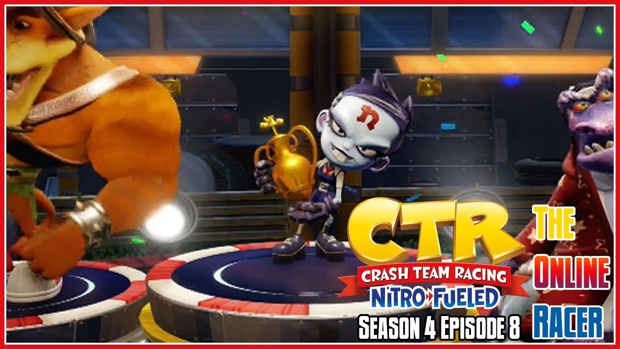 Download Crash Team Racing Nitro-Fueled - The Online Racer Season 4 Episode 8