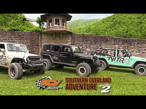 Trains, Tunnels, And Brushy State Prison - RCV Southern Overland Adventure Episode 2