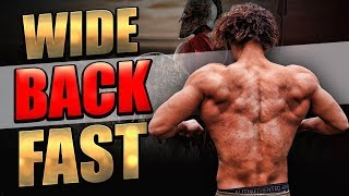 HOW TO GET A WIDE BACK - CALISTHENICS PULL WORKOUT