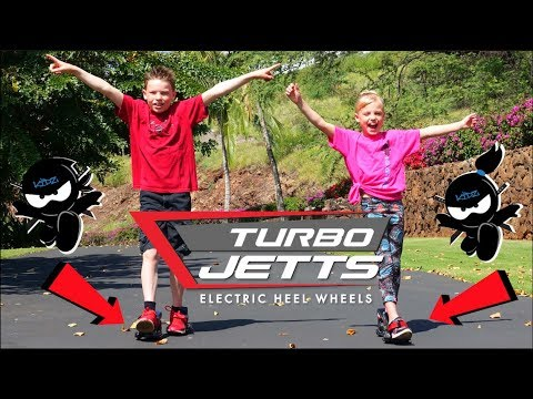 Turbo Jetts Powered Heels