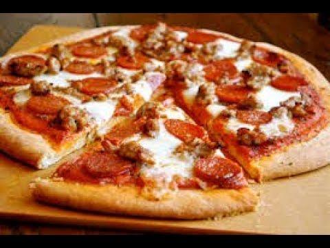 صورة  طريقة عمل البيتزا طريقة عمل بيتزا السجق 👈 من الالف للياء وتحدى !! 👌 طريقة عمل البيتزا من يوتيوب
