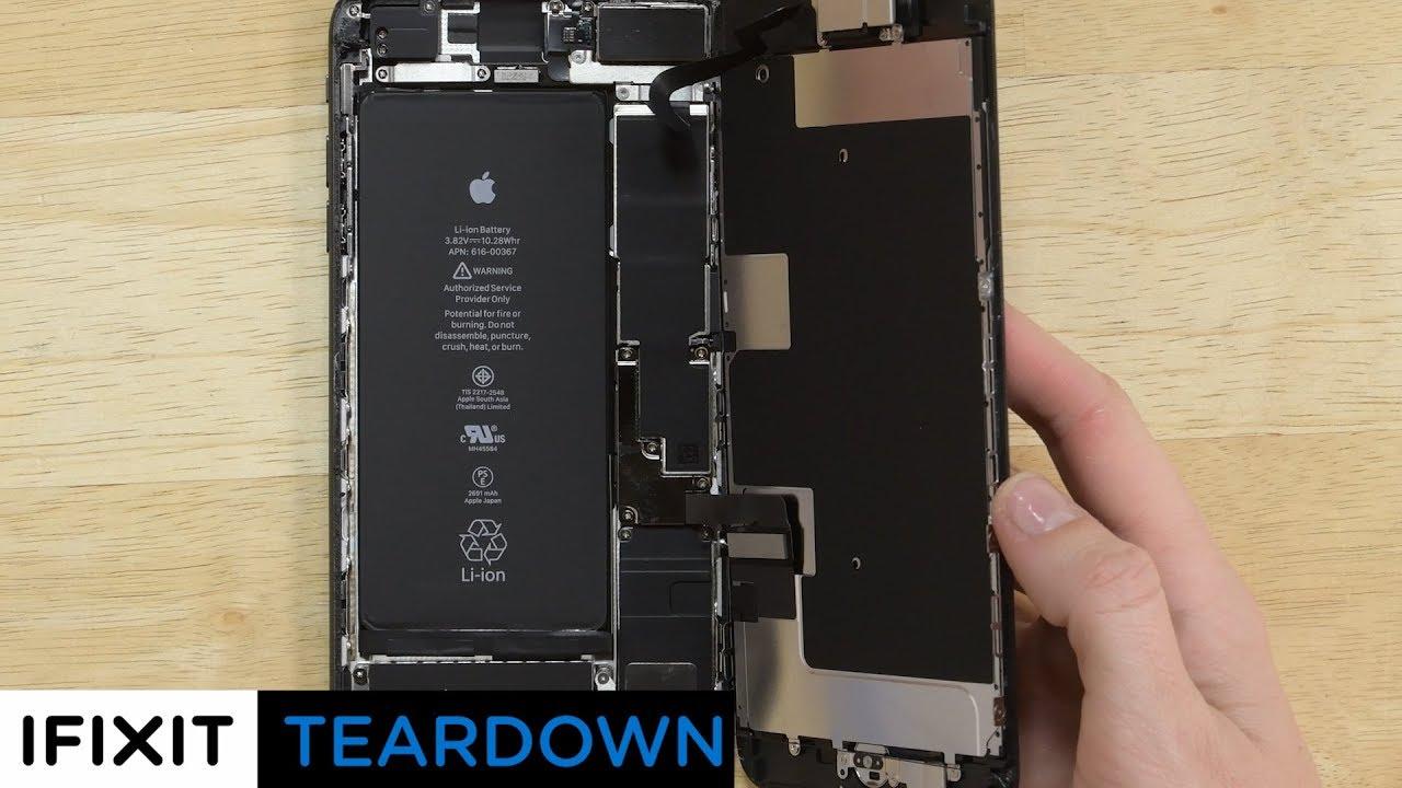 iPhone 8 Plus Teardown and Analysis!  YouTube