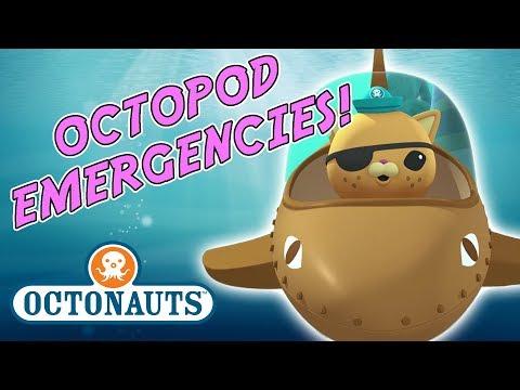 Octonauts - Octopod Emergencies | Sea Creature Skills