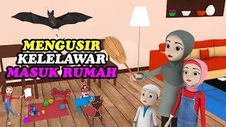 Kelelawar Masuk Rumah Saat Maghrib Tiba | Kartun Cerita Anak...